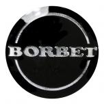 BORBET A kapsli 60mm embleem